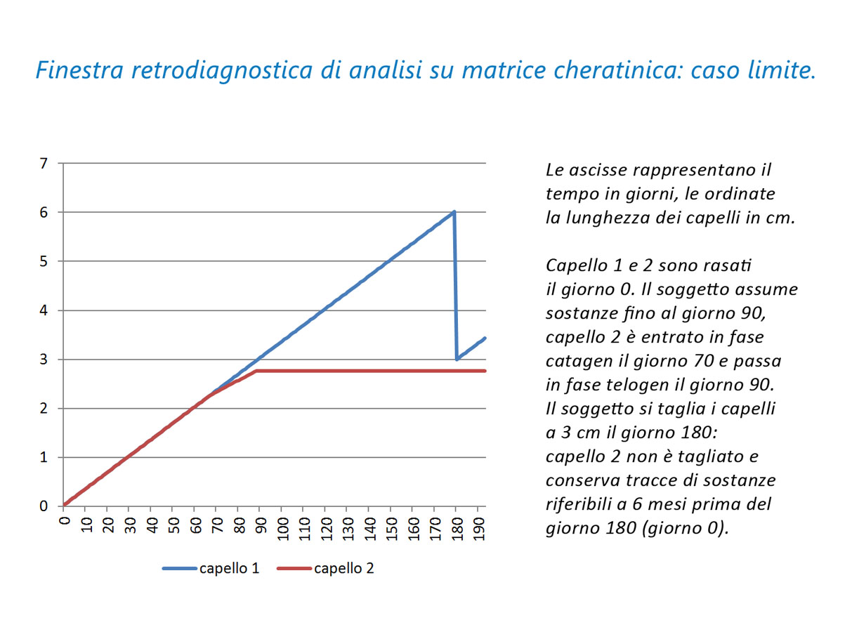 finestra retrodiagnostica analisi del capello